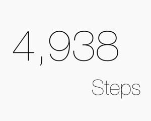 iOS 8のウィジェットに歩数を表示できる無料アプリ「歩数計 for M7」