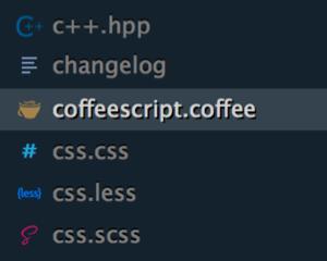 Sublime Text 3 のサイドバーアイコン表示に対応したテーマ「Cobalt2」