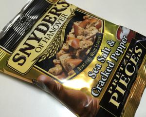 カルディで買った「スナイダーズ シーソルト&クラックドペッパー」を食べてみた