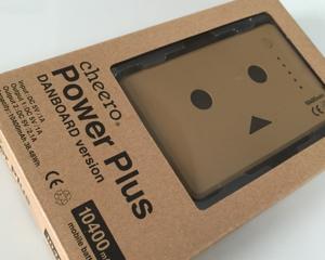 ダンボーのモバイルバッテリー cheero Power Plus 10400mAh を買いました