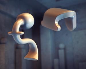 物体をぐるぐる動かして影でパズルを完成させるiPhoneアプリ「Shadowmatic」がおもしろい