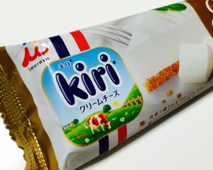 kiriと井村屋コラボ第二弾!kiriクリームチーズケーキアイスが美味しい
