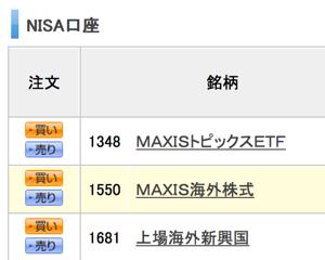 楽天証券のNISA口座ではじめてETF(上場投資信託)を買ってみた