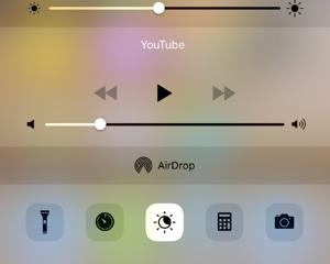 [iPhone] Night Shift をコントロールセンターからすぐにオン・オフする方法