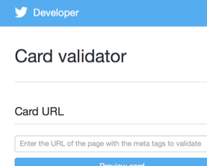Twitterカードの画像キャッシュをクリアする方法