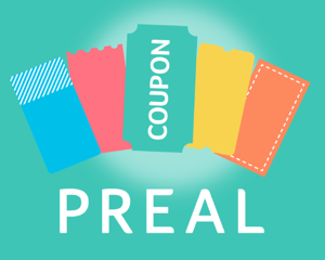 コンビニやファミレスなどいろんなお店のクーポン・割引情報をまとめたiPhoneアプリ「PREAL(プレアル)」