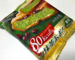 グリコカロリーコントロールアイス抹茶あずきモナカを食べてみた
