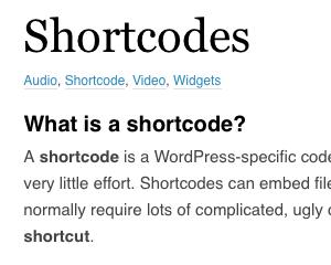 [WordPress] ウィジェットやテンプレート、カスタムフィールドなどいろいろな場所でショートコードを実行する