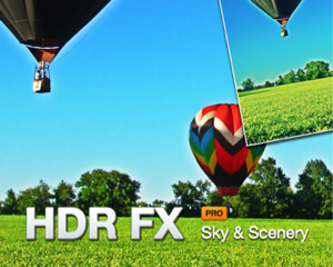 空や風景の写真をワンタッチで加工できるiPhoneアプリ「HDR FX Pro」