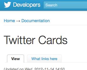 ブログをTwitter Cardsに対応してサムネイル画像や記事の概要が表示されるようにしてみた