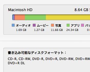 Macが容量不足だったのでセーフブートしたら空き容量が10GB増えた