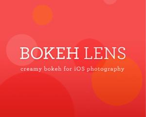 写真の背景などをぼかし加工できるiPhoneアプリ「Bokeh Lens」