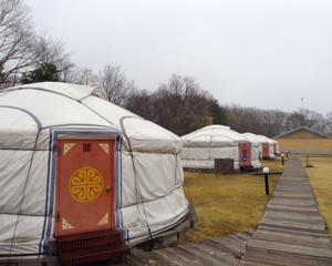 那須でモンゴル式住居「ゲル」に宿泊してきました