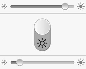 ワンタッチで画面の明るさを切り替えられるiPhone/iPadアプリ「Quick Brightness」