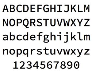 プログラミング用フォントをまとめてみました(Source Code Pro/Ricty/Consolasなどなど)