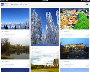 iPhone/iPad内の写真をPinterest風に表示!種類や撮影日時や場所で分類してくれる賢いアプリ「PhotosPro」