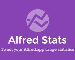 [Mac] Alfred.app の使用回数ツイートをまとめて見られるHerokuアプリ「Alfred Stats」をつくりました