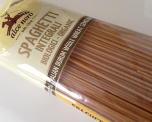 GI値が低いアルチェネロ有機全粒粉スパゲッティを食べてみた