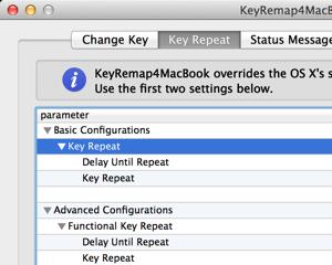 Mac のキーリピート速度をあげる KeyRemap4MacBook 設定