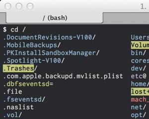 Mac OS X bash で cd したら同時に ls -GAF するエイリアスコマンド