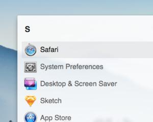 Mac OS X Yosemite(ヨセミテ)の Spotlight っぽい Alfred テーマを設定してみた